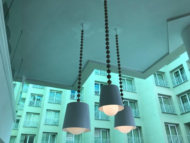 Lobby of Renaissance Marina Hotel Oranjestad Aruba